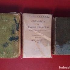 Libros de segunda mano: LOTE LIBROS DE TEXTO PRINCIPIOS SIGLO XX.. Lote 277843383