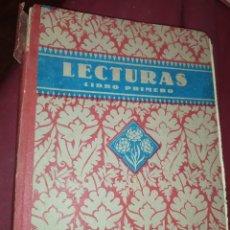 Libros de segunda mano: LECTURAS GRADUADAS LIBRO 1941 NIHIL OBSTAT VICENTE JENA. Lote 277852613