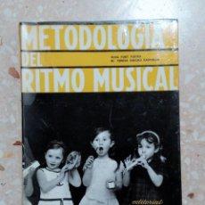 Libros de segunda mano: METODOLOGÍA DEL RITMO MUSICAL. EDIT LEX NOVA. 1972. Lote 278487163