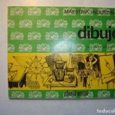 Libros de segunda mano: DIBUJO. MAESTRÍA INDUSTRIAL 1º - JUAN BAUSTISTA ROMAN NIETO - EDITORIAL EVEREST 1970. Lote 278521278