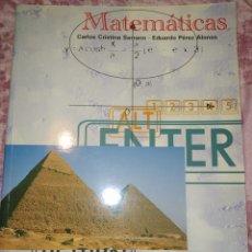 Libros de segunda mano: MATEMÁTICAS 2 ESO. EDITEX. CARLOS CRISTINA SERRANO, EDUARDO PÉREZ ALONSO. AÑO 1997. PÁGINAS 240. PES. Lote 278833613