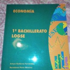 Libros de segunda mano: ECONOMÍA. 1 BACHILLERATO LOGSE. VARIOS AUTORES. ALGAIDA. AÑO 1996. PÁGINAS 250. PESO 450 GR. SIN EST. Lote 278833838