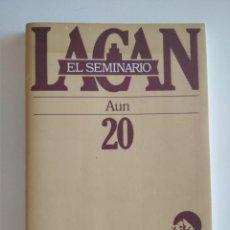 Libros de segunda mano: LAGAN - EL SEMINARIO - AUN - LIBRO 20. Lote 278834893