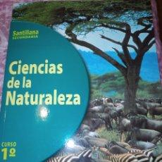 Libros de segunda mano: CIENCIAS DE LA NATURALEZA 1 CURSO. SANTILLANA SECUNDARIA. AÑO 1996. PÁGINAS 249. PESO 550 GR. SIN ES. Lote 278835048