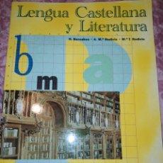 Libros de segunda mano: LENGUA CASTELLANA Y LITERATURA. 2 ESO EDITEX. VARIOS AUTORES. AÑO 1998. PÁGINAS 246. PESO 550 GR. SI. Lote 278835213