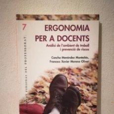 Libros de segunda mano: LIBRO - ERGONOMÍA PER A DOCENTS - COMUNICACION - GRAÓ.. Lote 278847038