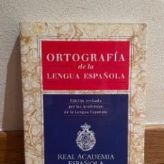 Libros de segunda mano: ORTOGRAFÍA DE LA LENGUA ESPAÑOLA REAL ACADEMIA ESPAÑOLA. Lote 279439273