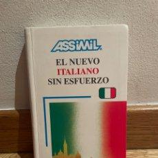 Libros de segunda mano: EL NUEVO ITALIANO SIN ESFUERZO. Lote 279439868