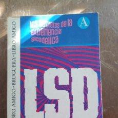 Libros de segunda mano: MOA SECRETOS DE LA EXPERIENCIA SICODELICA, LSD, PYMY 57. Lote 279568483