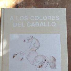 Libros de segunda mano: A LOS COLORES DEL CABALLO, MIQUEL ODRIOZOLA, PYMY 60. Lote 279573088