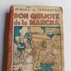 Libros de segunda mano: DON QUIJOTE DE LA MANCHA . LIBRERÍA Y CASA EDITORIAL HERNANDO 1944 . ESCUELA ENSEÑANZA. Lote 279579323