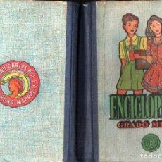 Livres d'occasion: DALMAU CARLES : ENCICLOPEDIA GRADO MEDIO (1962). Lote 280930688