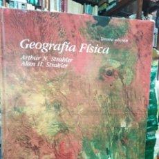 Livros em segunda mão: GEOGRAFÍA FISICA-3 EDICIÓN-ARTHUR N.STRAHLER/ALAN H.STRAHLER-EDITA OMEGA 2013. Lote 286794373