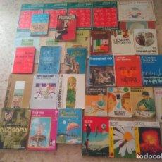 Libros de segunda mano: EGB, BUP ... SM, ANAYA, SANTILLANA, ÁLVAREZ, MIÑÓN ... LIBRO DE TEXTO ANTIGUO - LOTAZO - VER TÍTULOS. Lote 287225653