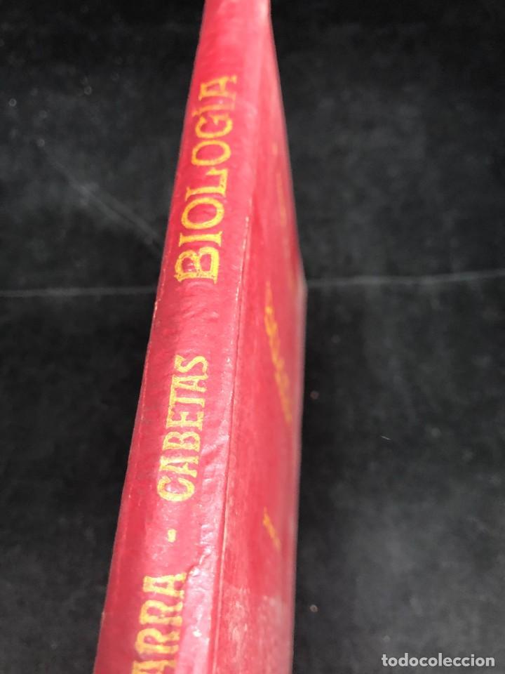 Libros de segunda mano: BIOLOGÍA. SÉPTIMO CURSO. 3ª EDICIÓN. / RAFAEL YBARRA Y ANGEL CABETAS / MADRID / 1942 - Foto 2 - 287779823