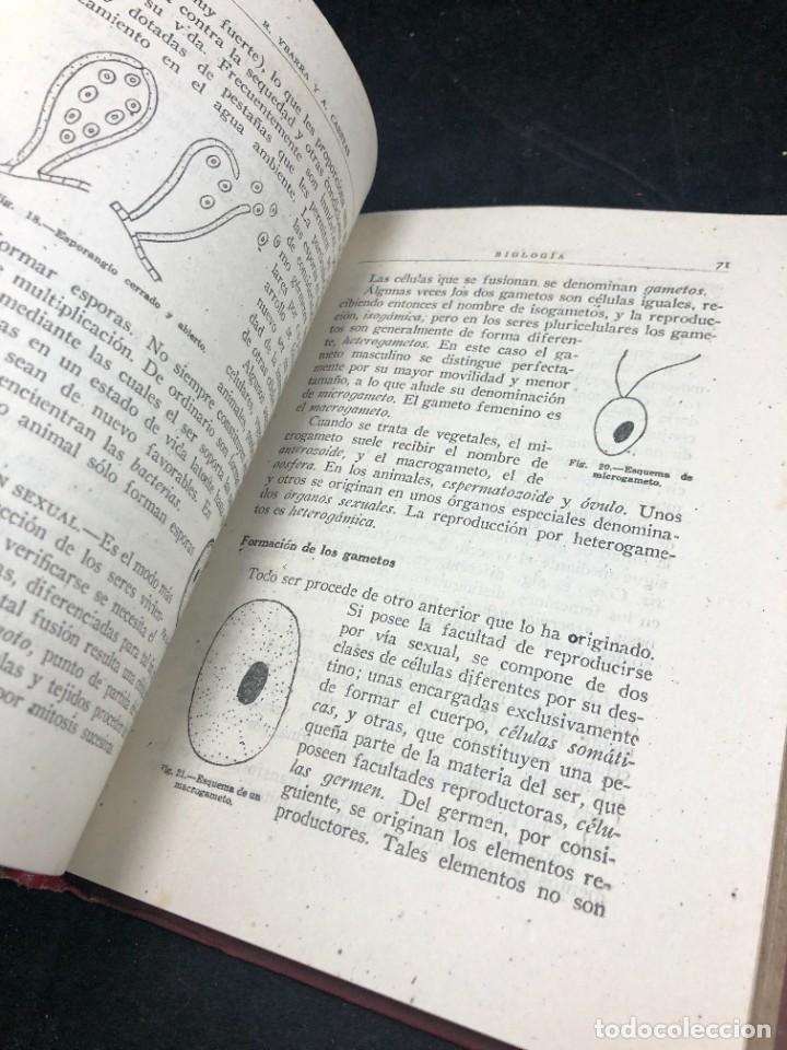 Libros de segunda mano: BIOLOGÍA. SÉPTIMO CURSO. 3ª EDICIÓN. / RAFAEL YBARRA Y ANGEL CABETAS / MADRID / 1942 - Foto 6 - 287779823