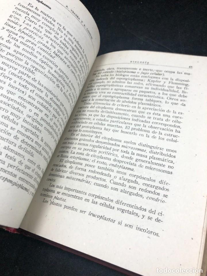 Libros de segunda mano: BIOLOGÍA. SÉPTIMO CURSO. 3ª EDICIÓN. / RAFAEL YBARRA Y ANGEL CABETAS / MADRID / 1942 - Foto 9 - 287779823