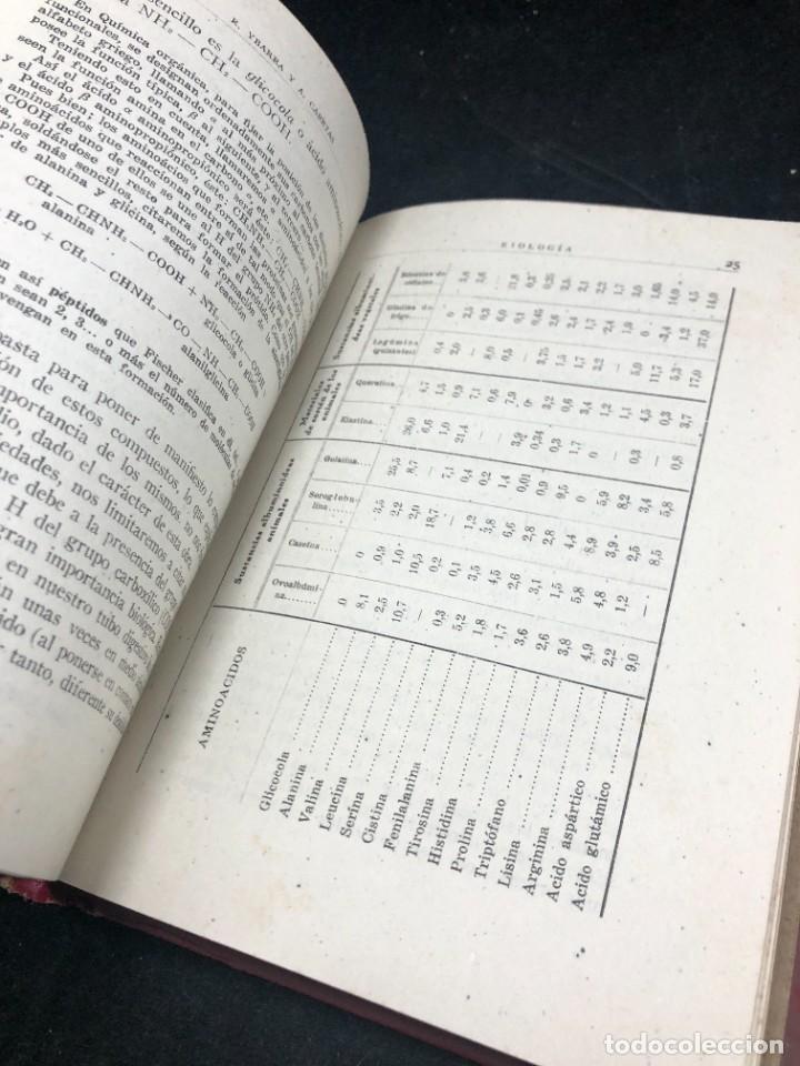 Libros de segunda mano: BIOLOGÍA. SÉPTIMO CURSO. 3ª EDICIÓN. / RAFAEL YBARRA Y ANGEL CABETAS / MADRID / 1942 - Foto 10 - 287779823
