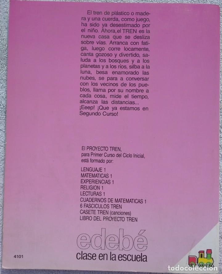 Libros de segunda mano: 1º E.G.B., Lenguaje (Edebé, 1990) /// CONOCIMIENTO MEDIO MATEMÁTICAS PLÁSTICA MÚSICA LENGUA RELIGIÓN - Foto 3 - 287790938