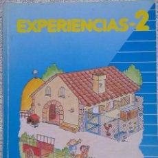 Libros de segunda mano: 2º E.G.B., EXPERIENCIAS (VICENS VIVES, 1989) /// LENGUAJE LENGUA CONOCIMIENTO MATEMÁTICAS MÚSICA. Lote 287792653