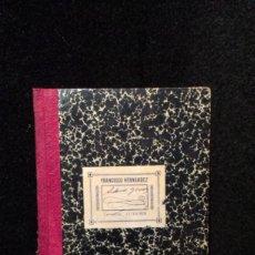 Libros de segunda mano: LENGUA FRANCESA - PRONTUARIO DE PRONUNCIACION - DAMIAN ALCON Y ZAERA 1906. Lote 287993768
