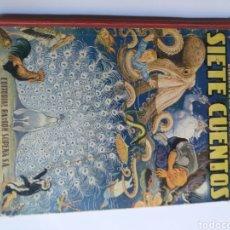 Libros de segunda mano: SIETE CUENTOS. CARLOS GONZÁLEZ DE TORRES BIBLIOTECA PARA NIÑOS. EDITORIAL RAMÓN SOPENA 1953. Lote 289849113