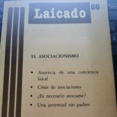 Libros de segunda mano: LIBRO 2485 - LAICADO, EL ASOCIACIONISMO. Lote 289849493