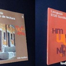 Libros de segunda mano: SENDA 5 + LENGUAJE 5 - 5º EGB CICLO MEDIO - SANTILLANA - NUEVOS DE LIBRERIA - SIN USAR. Lote 293947113