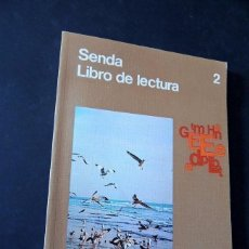 Libros de segunda mano: SENDA 2 - LIBRO DE LECTURA - 2º EGB CICLO INICIAL - SANTILLANA - NUEVO DE LIBRERIA - SIN USAR. Lote 293948288