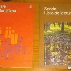 Libros de segunda mano: SENDA 3 + LENGUAJE 3 - PANDORA Y LOS NIÑOS - 3º EGB CICLO MEDIO - SANTILLANA - NUEVOS DE LIBRERIA. Lote 293948478