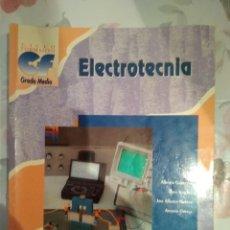 Libros de segunda mano: ELECTROTECNIA. GRADO MEDIO. MCGRAWHILL.. Lote 295737863