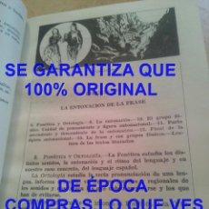 Libros de segunda mano: COMPENDIO DE LENGUA Y LITERATURA, MARTÍN ALONSO TERCER AÑO BACHILLERATO 1957 U17. Lote 295859118