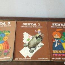 Libros de segunda mano: SENDA 3 // 2 LIBROS IGUALES SENDA 1 ~ ESTADO MUY BUENO ////. Lote 295875498