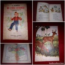 Libros de segunda mano: MI LIBRO SEGUNDO ( ENCICLOPEDIA 1º Y 2º GRADO ) SANTIAGO SCHNELL CARACAS 1946 MUY DIFICIL**. Lote 295987503
