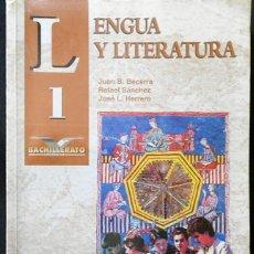Libros de segunda mano: LENGUA Y LITERATURA 1 (1º BACHILLERATO) - MC GRAW HILL (JUAN BECERRA, RAFAEL SÁNCHEZ Y JOSÉ HERRERO). Lote 296011253
