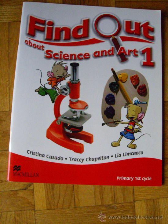 FIND OUT 1 SCIENCE AND ART ( 1º PRIMARIA ) - MACMILLAN ¡ SIN ESTRENAR ! - CURSO 2015 - 2016 (Libros Nuevos - Libros de Texto - Infantil y Primaria)