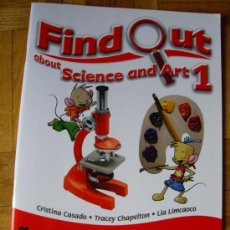 Libros: FIND OUT 1 SCIENCE AND ART ( 1º PRIMARIA ) - MACMILLAN ¡ SIN ESTRENAR ! - CURSO 2015 - 2016. Lote 33659846
