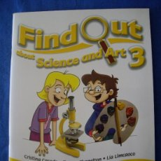 Libros: FIND OUT 3 SCIENCE AND ART - 3º DE PRIMARIA - MACMILLAN ( SIN ESTRENAR ) -. Lote 36834021