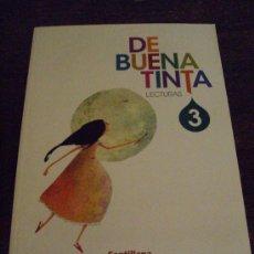 Libros: LECTURAS 3º DE PRIMARIA DE BUENA TINTA - SANTILLANA - ( SIN ESTRENAR ). Lote 39141463