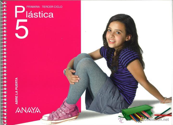PLÁSTICA 5 PRIMARIA ABRE LA PUERTA ANAYA NUEVO. ISBN 9788466779937 (Libros Nuevos - Libros de Texto - Infantil y Primaria)