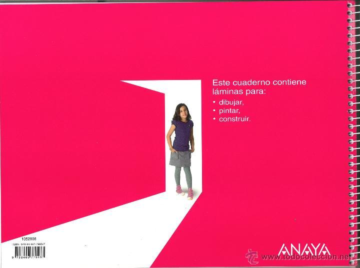 Libros: PLÁSTICA 5 PRIMARIA ABRE LA PUERTA ANAYA NUEVO. ISBN 9788466779937 - Foto 2 - 45874553