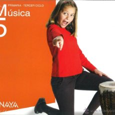 Libros: MÚSICA 5 PRIMARIA ABRE LA PUERTA. ANAYA. NUEVO. ISBN 9788466780117. Lote 45874616