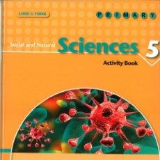 Libros: SOCIAL AND NATURAL SCIENCES 5 PRIMARY. ACTIVITY BOOK. OXFORD EDUCACIÓN. ISBN 9788467353761. Lote 45874784