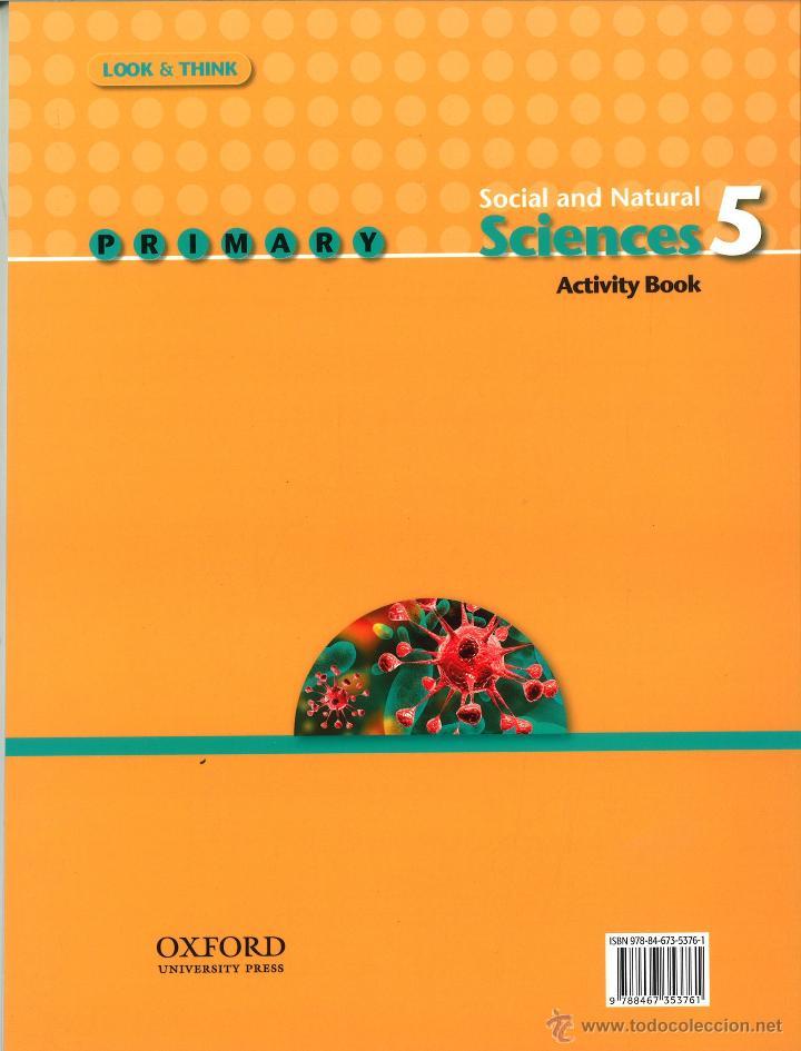 Libros: SOCIAL AND NATURAL SCIENCES 5 PRIMARY. ACTIVITY BOOK. OXFORD EDUCACIÓN. ISBN 9788467353761 - Foto 2 - 45874784