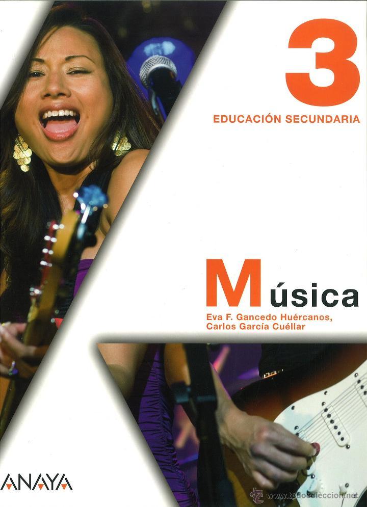 MÚSICA 3 ESO. EVA F. GANCEDO. ANAYA. NUEVO. ISBN 9788466788755 (Libros Nuevos - Libros de Texto - ESO)