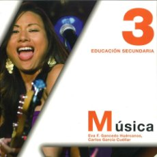 Libros: MÚSICA 3 ESO. EVA F. GANCEDO. ANAYA. NUEVO. ISBN 9788466788755. Lote 45874850