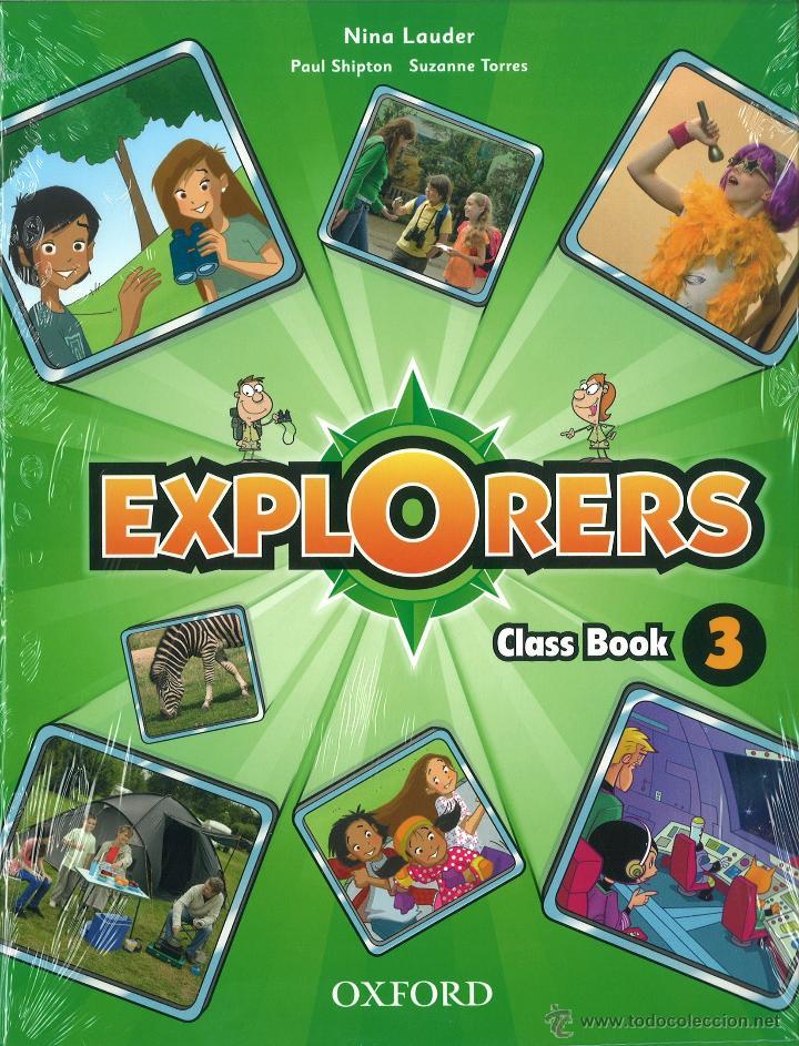 EXPLORERS 3 CLASS BOOK. NINA LAUDER. OXFORD. NUEVO. ISBN 9780194509961 (Libros Nuevos - Libros de Texto - Infantil y Primaria)