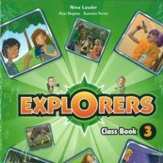 Libros: EXPLORERS 3 CLASS BOOK. NINA LAUDER. OXFORD. NUEVO. ISBN 9780194509961. Lote 45875042