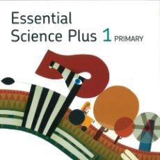Libros: ESSENTIAL SCIENCE PLUS 1 PRIMARY. STUDENT´S BOOK. RICHMOND SANTILLANA. NUEVO. ISBN 9788429455007. Lote 182455606
