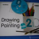 Libros: DRAWING AND PAINTING 2 ( PLASTICA DE 2º PRIMARIA ) - SANTILLANA - RICHMOND ( NUEVO , SIN ESTRENAR ). Lote 49164904